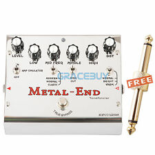 Biyang METAL END Versatile Distortion Amp Simulator Guitar Effects Pedal 18 Mode