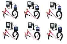 Lot of SIX Total 12 Volt Automatic Battery Float Charger With Safety Shutoff!