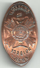 Veterans Of Foreign Wars Elongated Penny