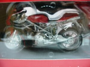 WOW EXTREMELY RARE Ducati 999 Biposto 2004 Red 1:12 Minichamps-996R/998-Wit's
