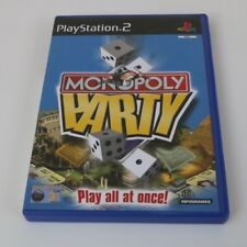 Monopolio Party - Sony Playstation 2 Pstwo PS2 Game - Mint