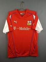 4.7/5 Czech Republic jersey large 2003 2004 home shirt soccer football Puma ig93