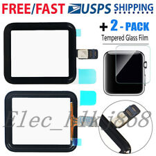 For Apple Watch iWatch Series 1 / 2 / 3 Front Touch Screen Digitizer Glass +Tool