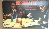 Condor Vintage The Sigma File Board Game 1973