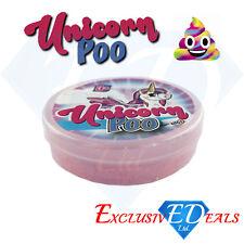 Unicorn Poo Pink / Purple Glitter Slime Putty Squishy Tub Kids Girls Party