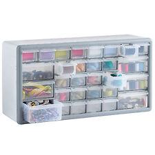 VonHaus 30 Drawer Parts Storage Organiser Cabinet Home Garage Tool DIY Box Case