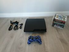 Sony PlayStation 3 PS3 Slim 160GB Bundle with 9 top games