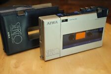 Vintage Aiwa Walkman HS-F1 Stereo Cassette Recorder/Player with Case