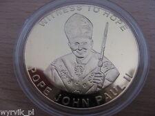 MALAWI 2003 Pope JOHN PAUL II Witness to Hope 10 kwacha UNC gilded