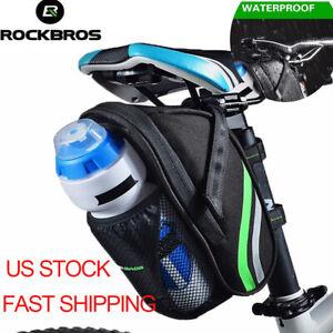 ROCKBROS Bike Cycling Kettle Tail Bag Waterproof Microfiber MTB Bike Saddle Bag