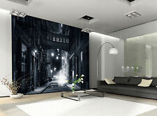 Street by Night Wall Mural Photo Wallpaper GIANT DECOR Paper Poster Free Paste