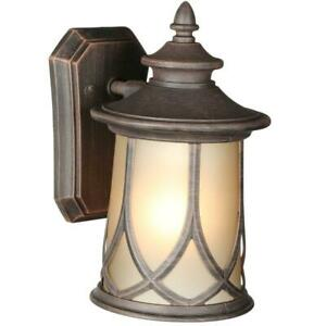 Progress Lighting Resort Collection 1-Light Aged Copper Outdoor Wall Sconce