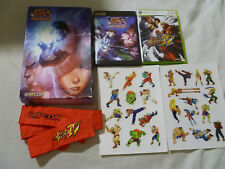 BOXED XBOX 360 PLAYSTATION 3 STREET FIGHTER II HD REMIX IV PRESS KIT PS3 RARE >>