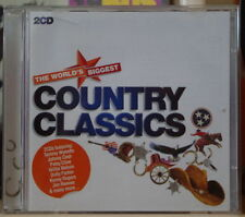 COUNTRY CLASSICS DOUBLE COMPACT DISC WORLD'S BIGGEST 2011