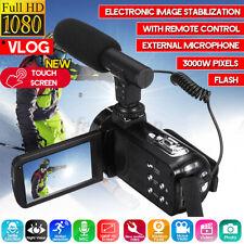 3in Digital Video Kamera Full HD 1080P 128GB 18x Zoom Mini Camcorder DV Kamera