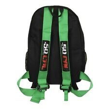 50 Caliber Racing Backpack bag Sport Travel Business Gym UTV Motorcycle Green