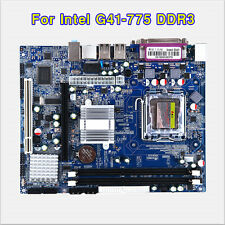 NEW for Intel G41 LGA 775 DDR3 Desktop Computer Motherboard Supports Quad-Core