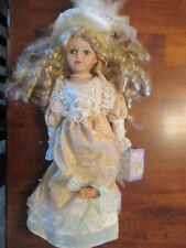 """Cathay Depot Doll Collection """"Lydia"""" with COA  15 inches Very Good Condition"""