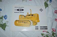 Allis Chalmers HD-11 Crawler Tractor Dealers Brochure YABE11 Ver37