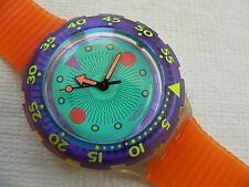 1991 SCUBA 200 Medusa SDK102 Swiss Swatch Watch Water-resistant to 656 feet New
