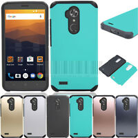 Slim Hybrid Protective Case Shockproof Rubber Phone Cover For ZTE Max XL N9560
