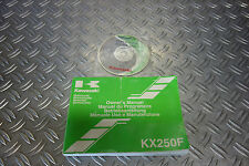 Kawasaki KX 250 F 05 #103# Betriebsanleitung CD Handbuch Fahrerhandbuch Buch