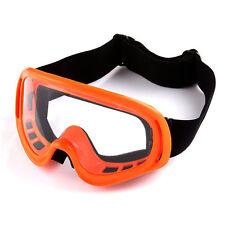 NEW Motocross Motorcross MX BMX ATV Dirt Bike Snow Goggles Orange Color