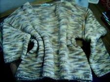 Schöner Damen Grob Strick Pullover Pulli beige Größe M ~~CAPO Italia