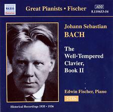 Fischer: J.S. Bach - The Well Tempered Klavier, Book II   ** BRAND NEW 2CD **