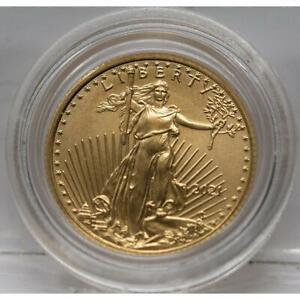 USA 5 Dollar 2021 -  Eagle 1/10 oz. Gold