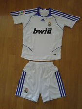 UNWORN Real Madrid shirt & shorts for 10-12 years, adidas, UK FREEPOST!