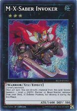 M-X-Saber Invoker - BLLR-EN063 - Secret Rare 1st Edition