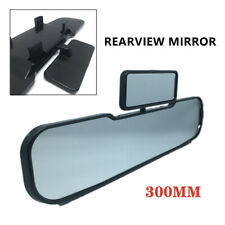 Universal Car HD Glass Rearview Mirror Clip On Curve Observe Baby Widen Vision