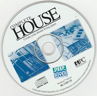 Classic Pc Software - Complete House - Create Your Dream Living Space