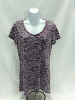 Women's Large Purple Mudd Knit Top
