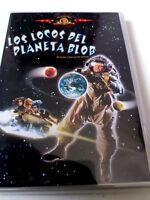 """DVD """"LOS LOCOS DEL PLANETA BLOB"""" MIKE HODGES GRIFF RHYS JONES MEL SMITH JAMS"""