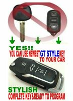 ALin1 New flip key remote for Toyota keyless entry clicker fob alarm HYQ12BBX GT