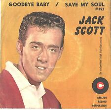 JACK SCOTT--PICTURE SLEEVE ONLY---(GOODBYE BABY)--PS--PIC-SLV