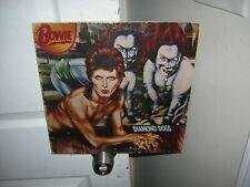 David Bowie signed lp **Diamond Dogs **1974***