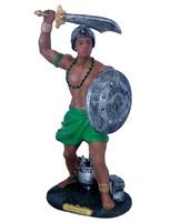 """Orisha Ogun 12"""" Statue Santeria Yoruba Lucumi 7 African Powers Guerrero 663313"""
