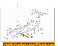 GM OEM FRAME-Transmission Cross Member 15057776