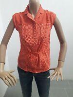 Camicia LEVIS Donna Shirt Woman Chemise Femme Taglia Size S Cotone 8434