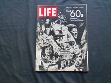 1969 DECEMBER 26 LIFE MAGAZINE - 1960'S SPECIAL ISSUE - L 1727