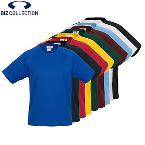 *NEW!* Biz Collection MENS SPRINT RAGLAN TEE [ALL SIZES AND COLOURS] T301MS