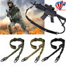 2 Point Shoulder Rifle Strap Tactical Airsoft Bungee Rope Gun Sling Belt Hunting