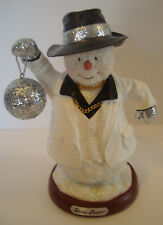 Bradford Editions Snow Fever Snowman Decades Second Issue Numbered Disco Ball