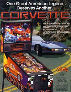 Corvette Bally Pinball sound chip set
