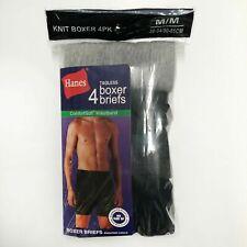 Hanes Tagless Knit Boxer Briefs ComfortSoft Waistband 4-Pack