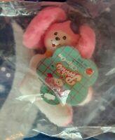 Mattel Poochie clip on plush peluche Doll Vintage