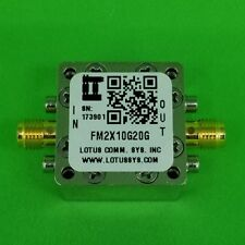Frequency Multiplier X2 (OUTPUT 10 GHz to 20GHz) FM2X10G20g